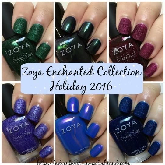 Zoya Nail Polish Enchanted Collection | Holiday 2016