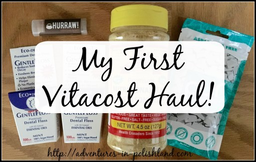 My First Vitacost Haul! | Adventures in Polishland