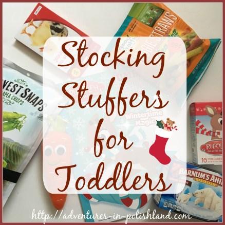 Stocking Stuffer Ideas for Toddlers | #PolishlandPresents