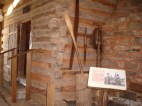 Seqouyah's cabin (enclosed in a building now)