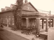 The Longview train station.