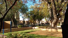 The square downtown