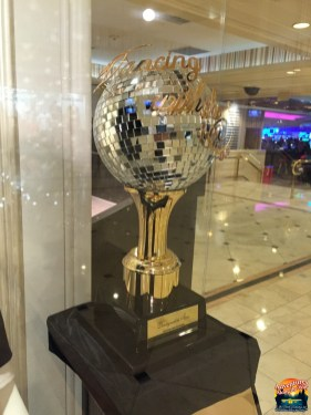 Donny's Dancing with the Stars Mirror Ball Trophy
