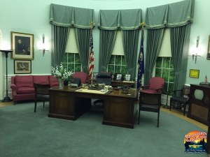 Oval Office Recreation at Truman Library