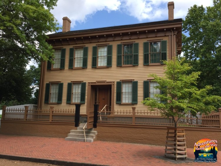 Abraham Lincoln's Home in Springfield, Illinois