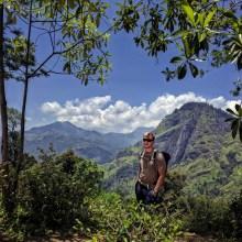 klim naar Little Adam's peak