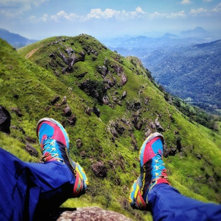 La Sportiva Bushido Trailrunning Schoenen. Qua lichtgewicht wandelwaardige schoenen kunnen ze absoluut meetellen. De review volgt nog wel.