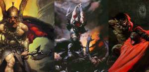 Frazetta selection