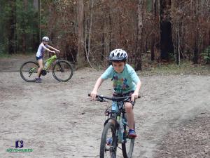 Noosa bike riding