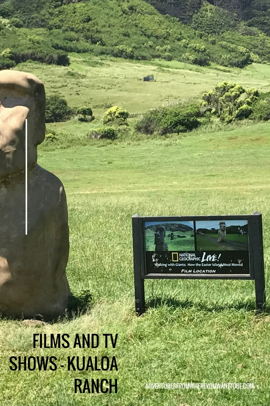 A visit to Oahu wouldn't be complete without dropping into Kualoa Ranch to see some of the amazing props and locations of over 50 movies and TV Shows.