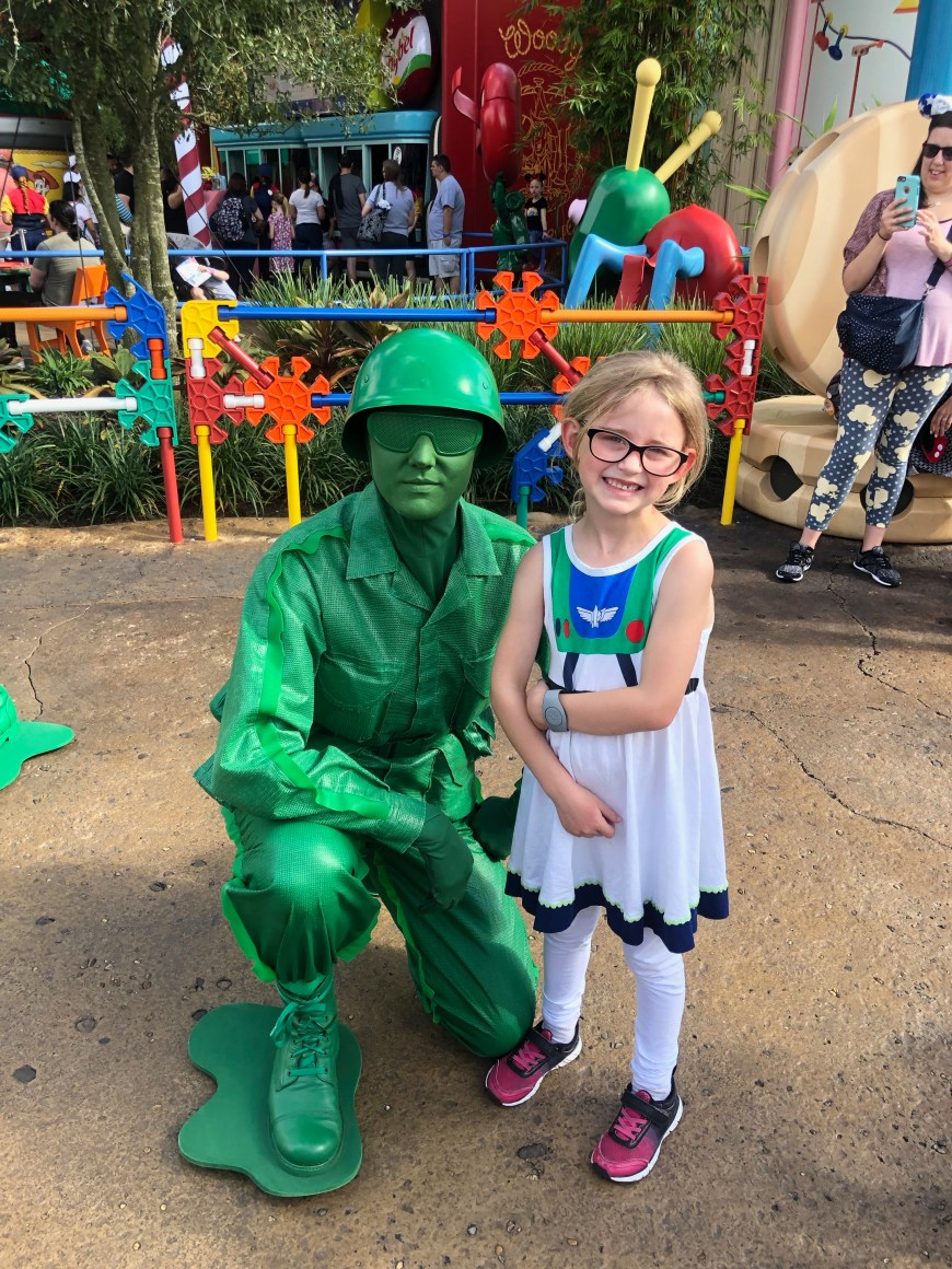 Green Army Men, Toy Story Land