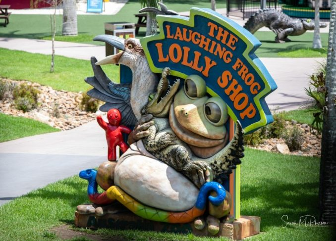 Laughing Frog Lolly shop