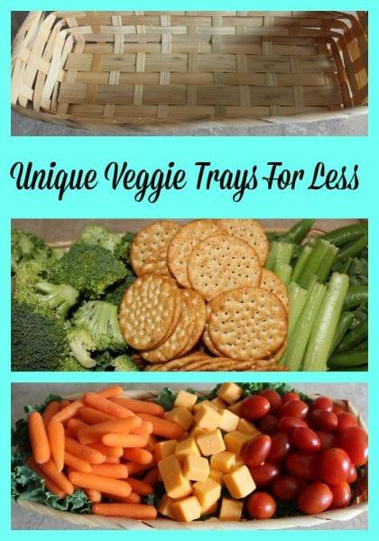 Unique Veggie Trays for Less