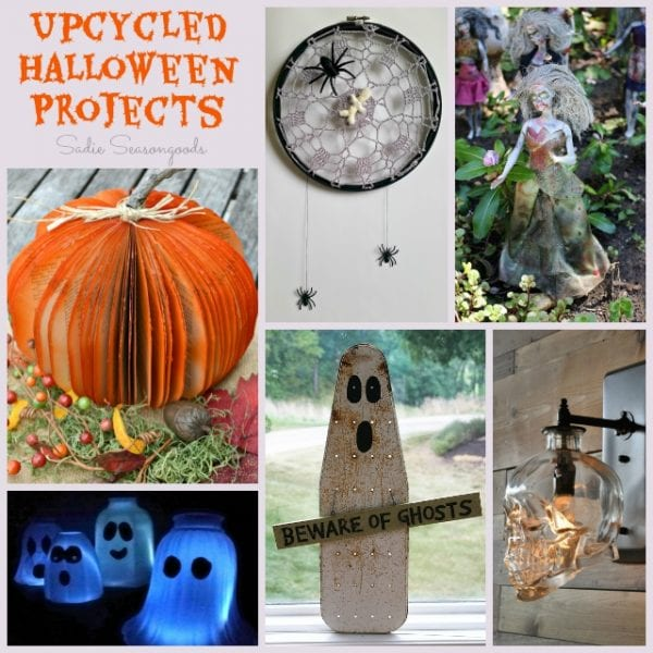 Spooky Upcycle Halloween Project - HMLP 60 Feature