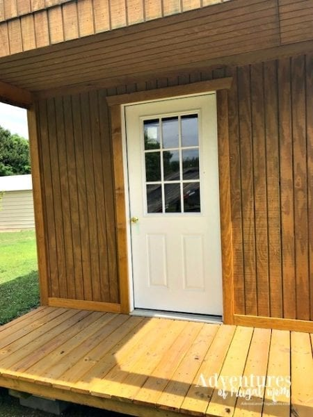My Blog Cabin She Shed Update from North Carolina Lifestyle Blogger Adventures of Frugal Mom