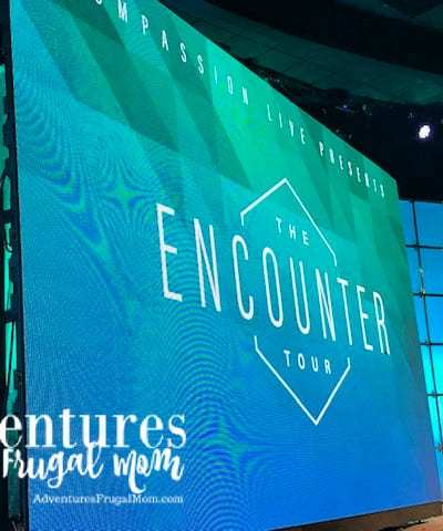 Spending Galentine's Day at The Encounter Tour