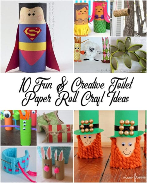 10 Fun Creative Toilet Paper Roll Craft Ideas Blogger Adventures