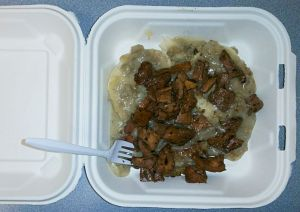 Biscuits and Gravy and Chanterelles