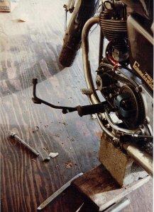 broken rear axle
