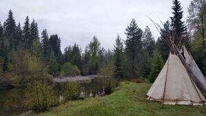 Longhouse on Lost Creek