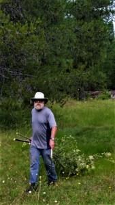 David bringing in some ironwood