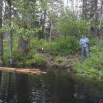 Tipi Pole Raft