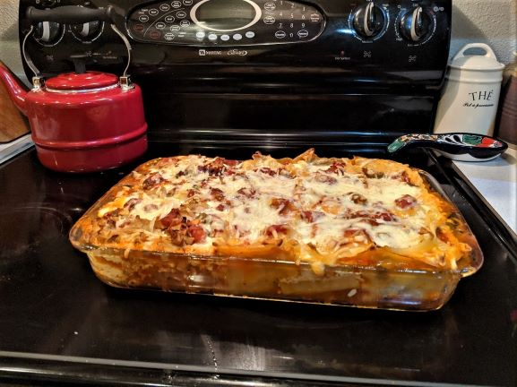 Sparassis Lasagna