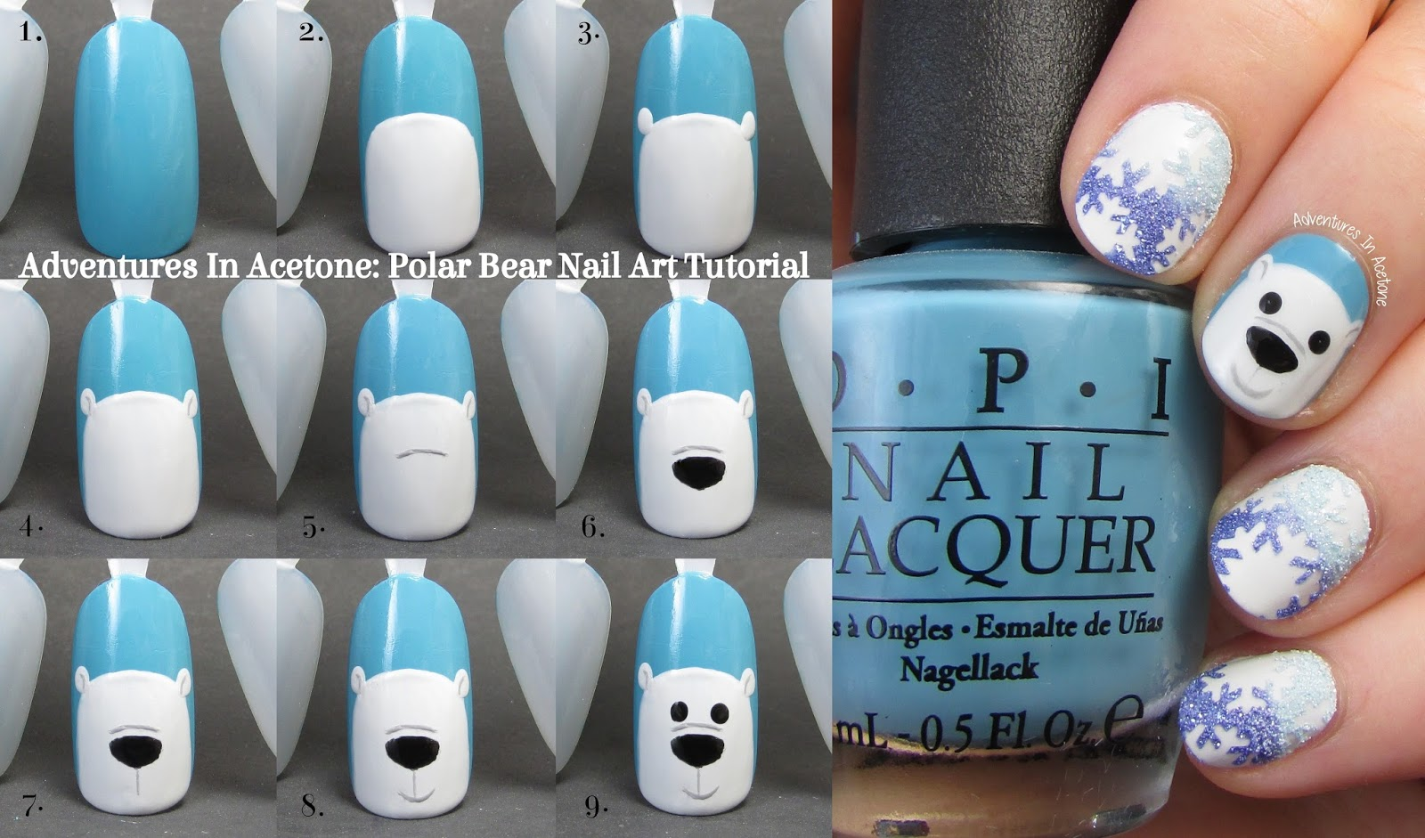 He Is Cute And Fairly Easy To Do If You Have Some Dotting Tools A Thin Brush So I Hope Will Try This Design On Your Own Nails