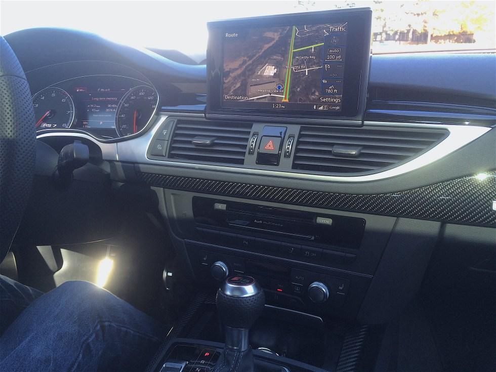 Audi RS7 Interior Edited