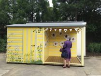 Bee shed at Kew