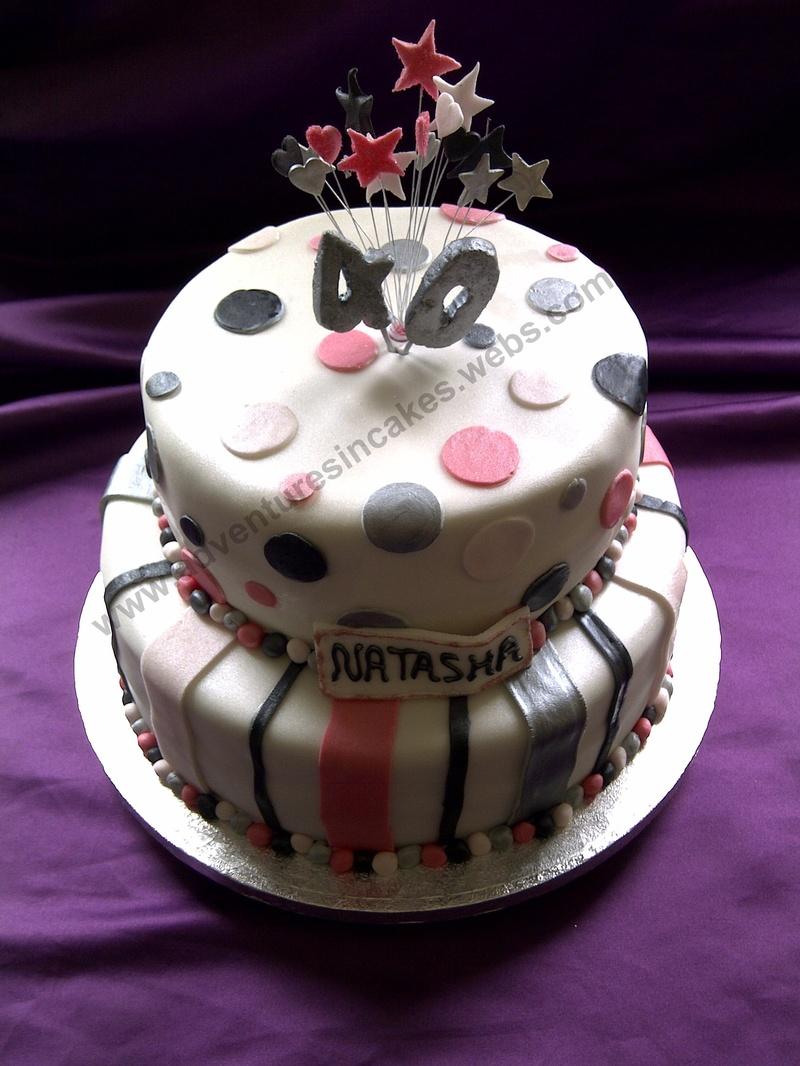 Female 40th Birthday Cake Ideas