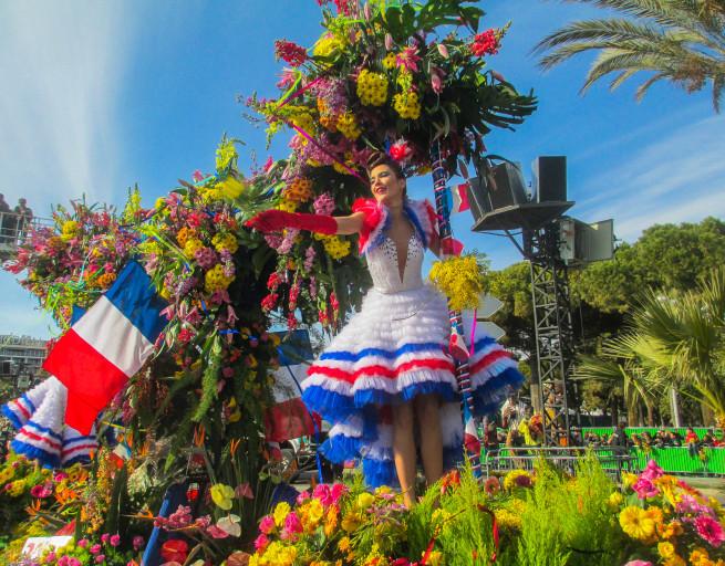 Bataille de fleurs, Carnival, Nice