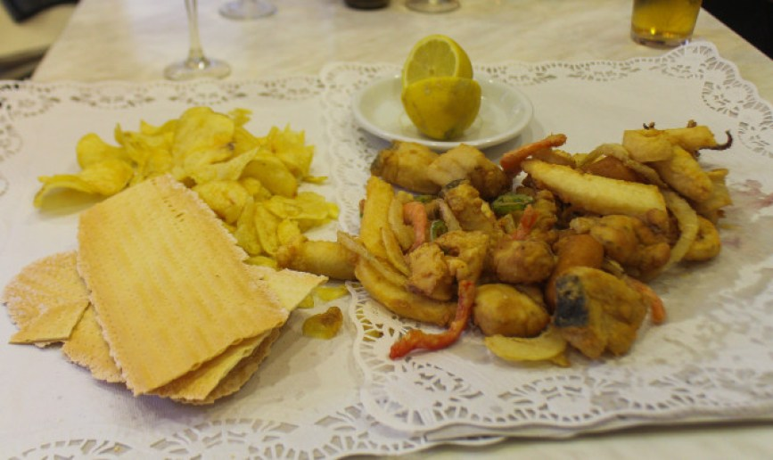 Fried fish tapas, Seville