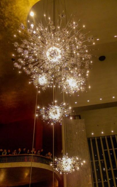Chandeliers, Metropolitan Opera
