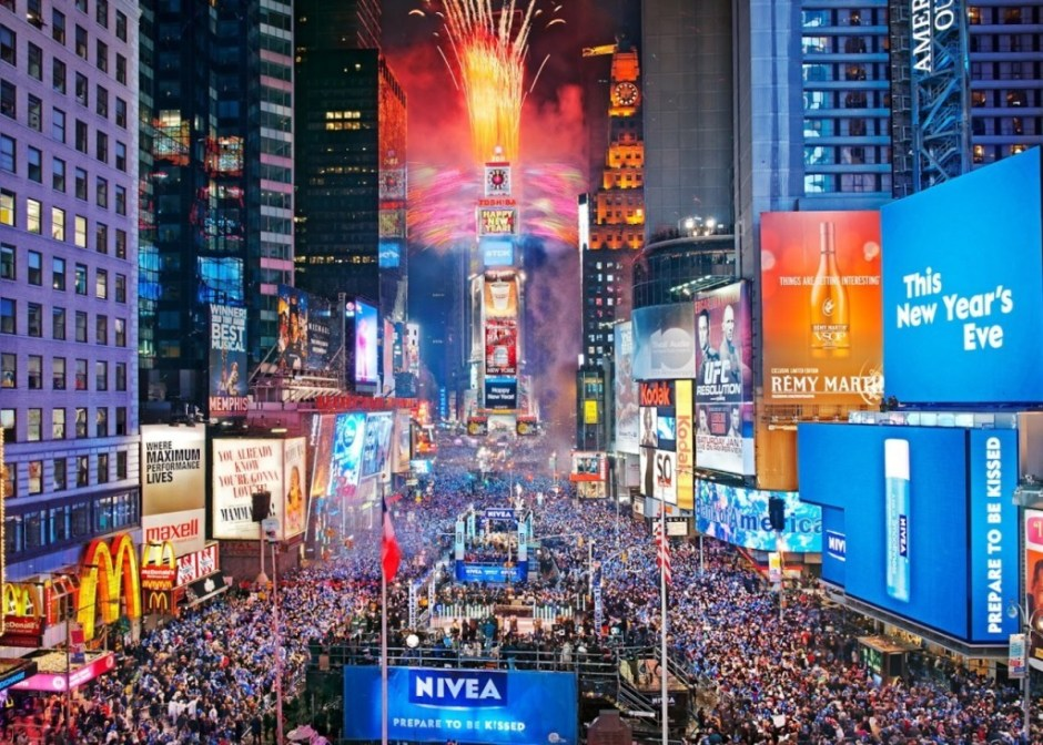 New Years Eve, Times Square, NYC