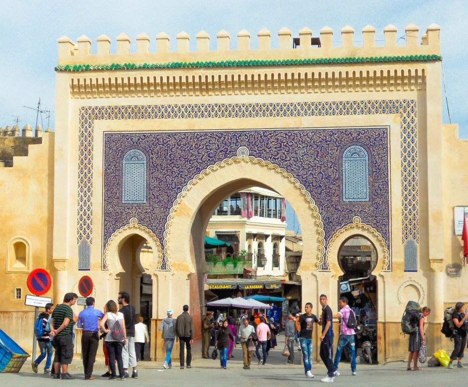 Bab Bou Jeloud, Fez, Morocco