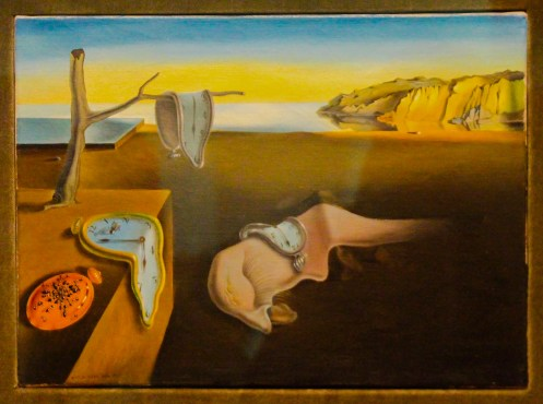 "Dali ""The Persistence of Memory."" MoMa, NYC"