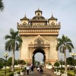 Vientianes imposing Patuxai