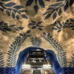 How amazing are Stockholms subway stations? Many are adorned withhellip