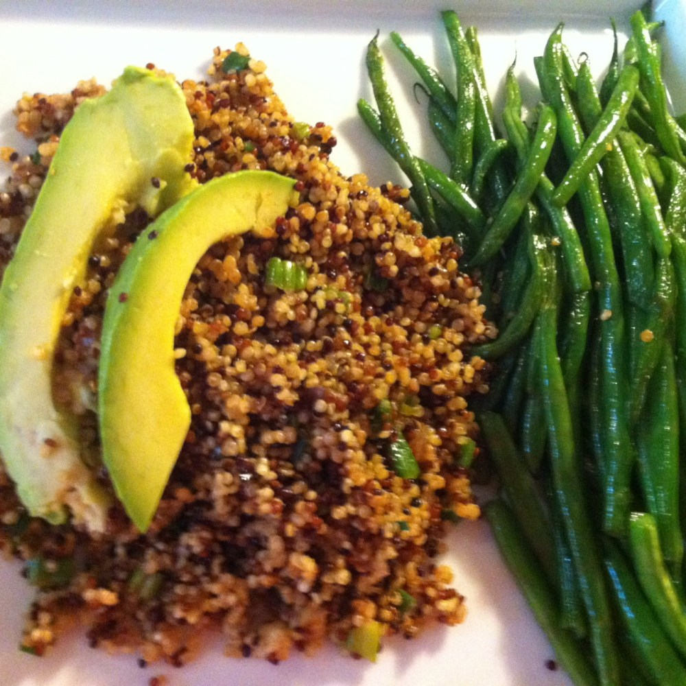 Dish #28 - Quinoa with Latin Flavors (1/4)