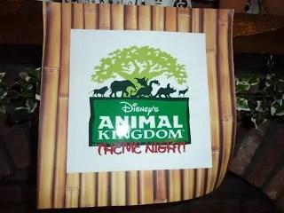 Animal Kingdom Family Theme Night