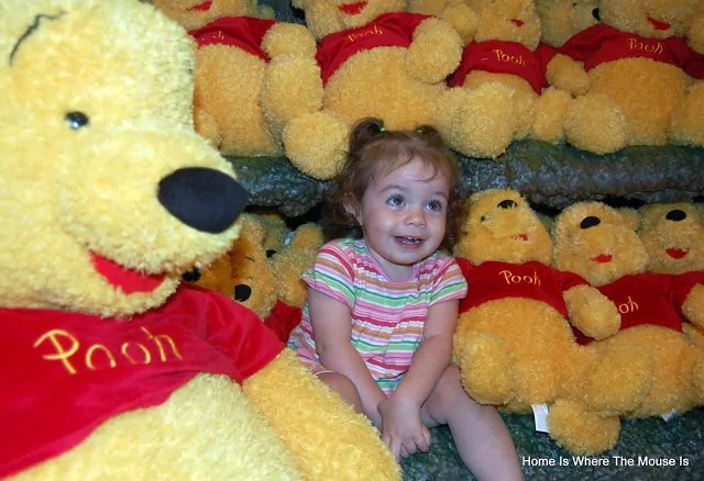 Bella and Pooh Bears