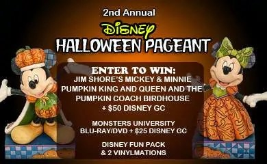 2nd Annual Disney Halloween Pageant and Giveaway
