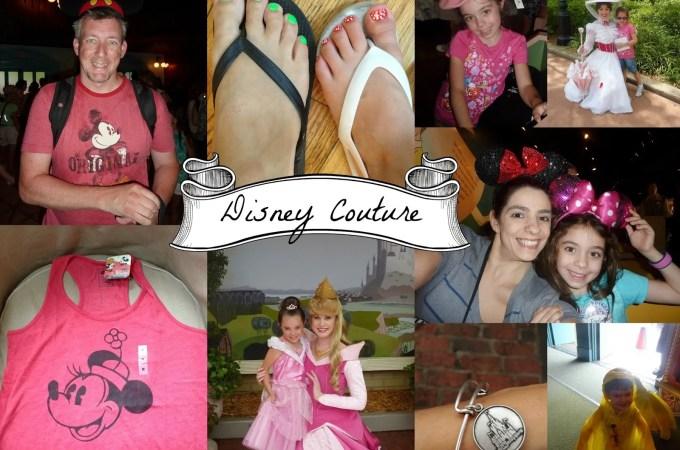 Wordless Wednesday – Disney Couture