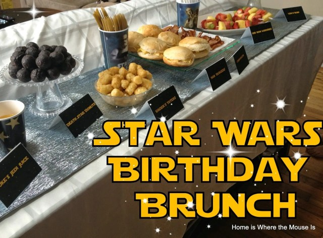 Star Wars Birthday Brunch