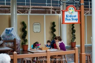 Epcot American Adventure Kidcot Fun Stop