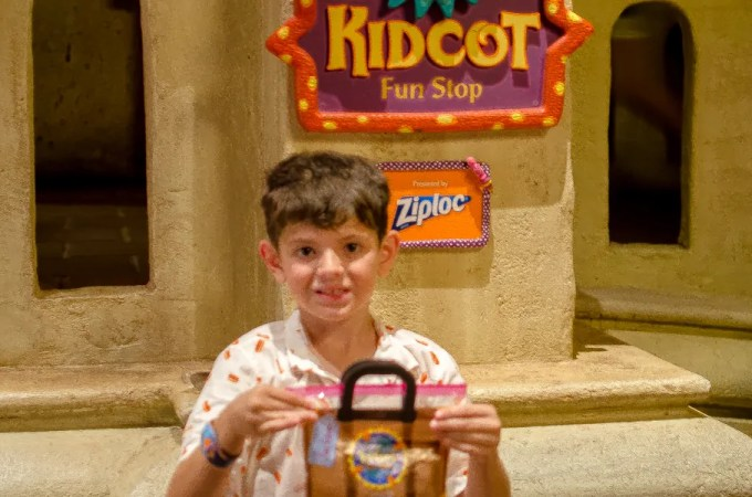 Kidcot Fun Stops at World Showcase