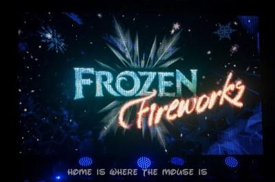 Frozen Fireworks Spectacular