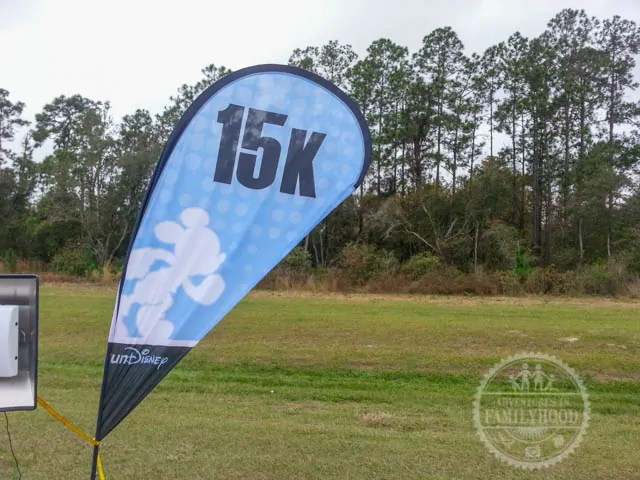 15k Marker of 2014 runDisney Walt Disney World Half Marathon