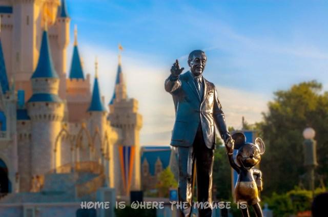 """""""Partners"""", by Blaine Gibson, Magic Kingdom, Walt Disney World"""